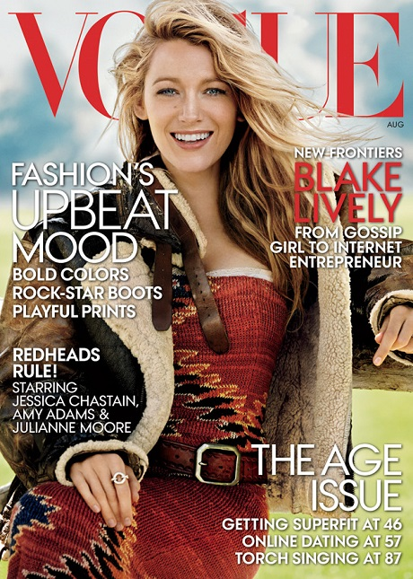 Blake Lively Covers Vogue, Dishes On Her new Lifestyle Company 'Preserve' - But Also Totally Confuses Us In The Process!