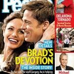 How Brad Pitt Stood By Angelina Jolie Through Her Surgeries (Photo)