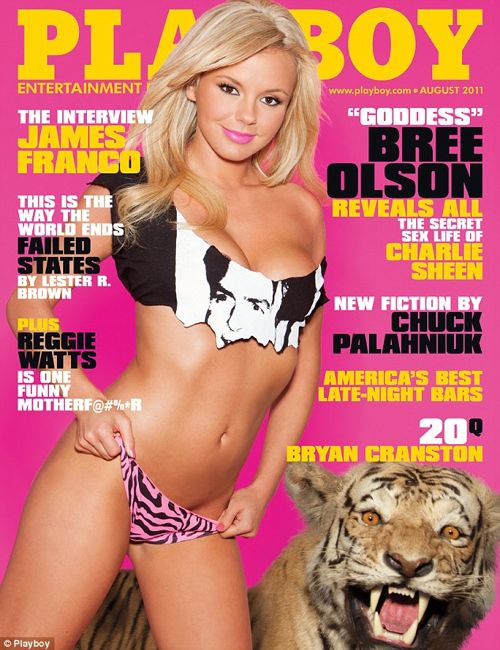 PHOTOS: Bree Olson Aug 2011 Playboy Spread