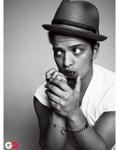 Bruno Mars ROCKS GQ Magazine – Photos