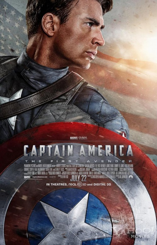 BRAND NEW: 'Captain America: The First Avenger' Trailer