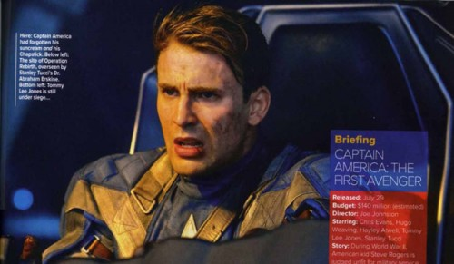 FIRST Footage From 'Captain America' VIDEO