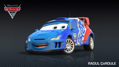 FIRST LOOK – Cars 2 NEW Character Debut: Raoul ÇaRoule