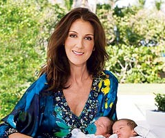 Celine Dion Shows Off Twins Eddy and Nelson