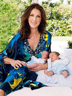 Celine Dion and the Twins Eddy and Nelson - Photos