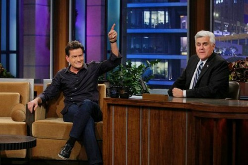 Charlie Sheen Discusses Lindsay Lohan's Anger Management Shenanigans
