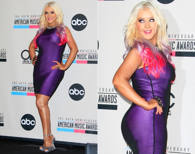 christina aguilera ama awards