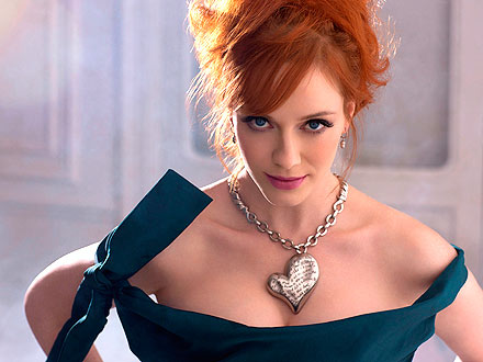Christina Hendricks Smolders For Vivienne Westwood Collection &#8211; Photos