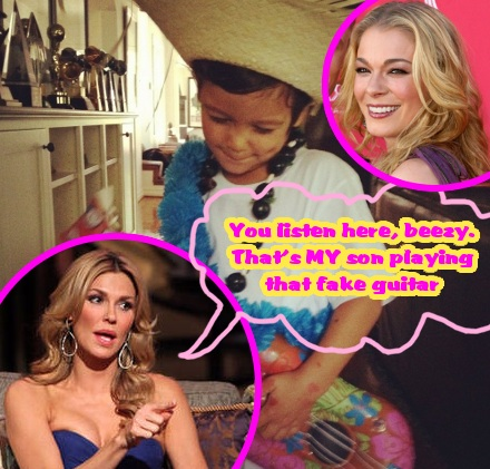 LeAnn Rimes Sends Brandi Glanville A Nasty Twitter Shot