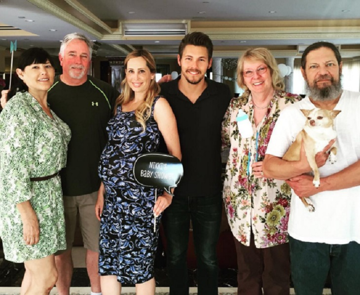 'The Bold And The Beautiful' News: Scott Clifton Wife Nikki Shares Photos Of Baby Shower – Baby Boy Clifton On The Way