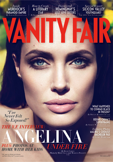 Photos: Angelina Jolie Covers Vanity Fair – September 2011