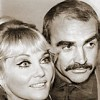 Diane Cilento and Sean Connery -