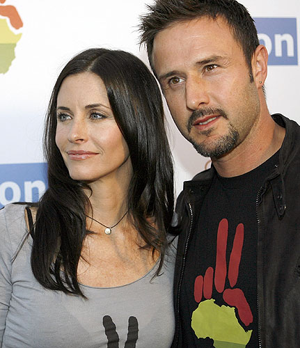 Courteney Cox Responds To David Arquette Entering Rehab