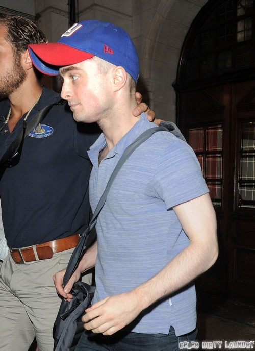 Daniel Radcliffe Steps Out In London