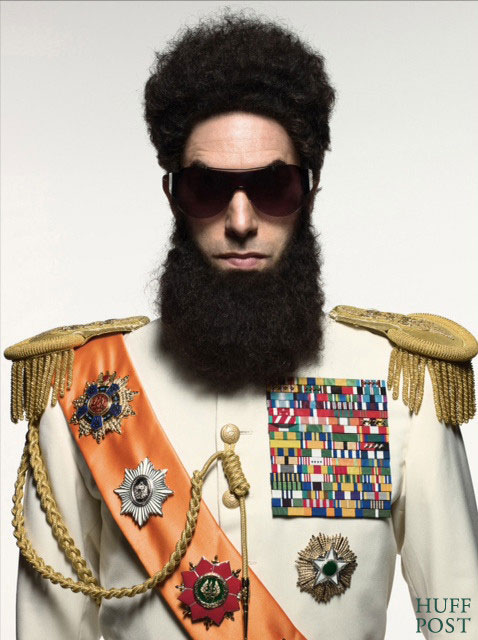 FIRST LOOK: Sacha Baron Cohen As &#8216;The Dictator&#8217;