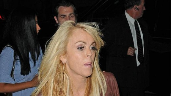 dina lohan a hot mess