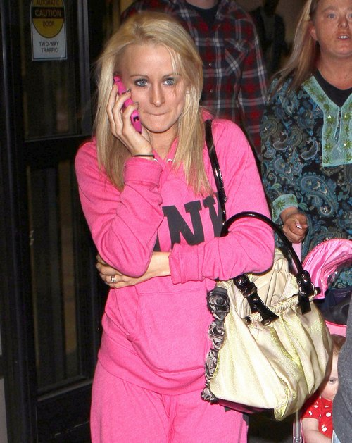 'Teen Mom 2' Star Leah Messer And Family Arriving On A Flight At LAX