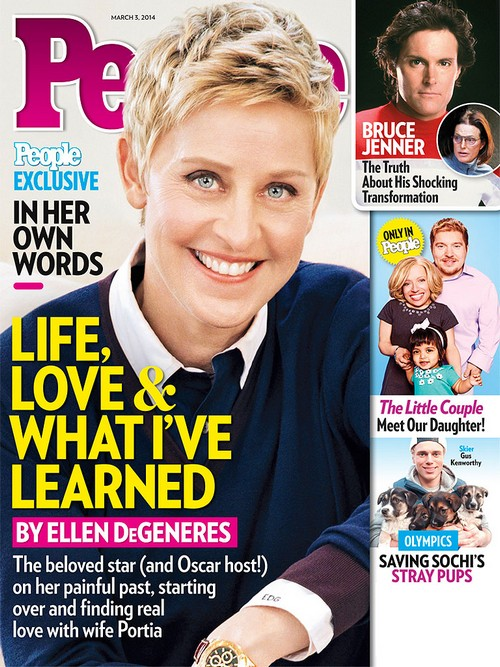 Ellen DeGeneres Says She Loves Portia de Rossi More Each Day: Breakup Rumors Continue