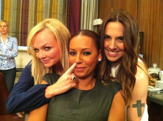 Mel C Recalls The Day She And Mel B Had A Fight: &#8216;Geri Ended Up Getting Punched&#8217;