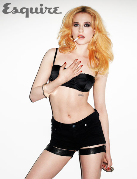Evan Rachel Wood Sizzles For Esquire As She Announces Bisexuality – PHOTOS