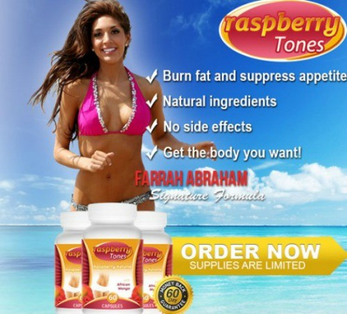 Farrah Abraham Lands Rasperry Tones Endorsement Deal