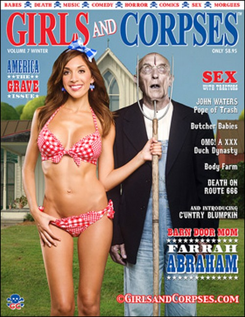 Farrah Abraham Covers Girls And Corpses Magazine (PHOTO)