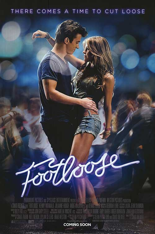 Sexy NEW Poster: &#8216;Footloose&#8217;
