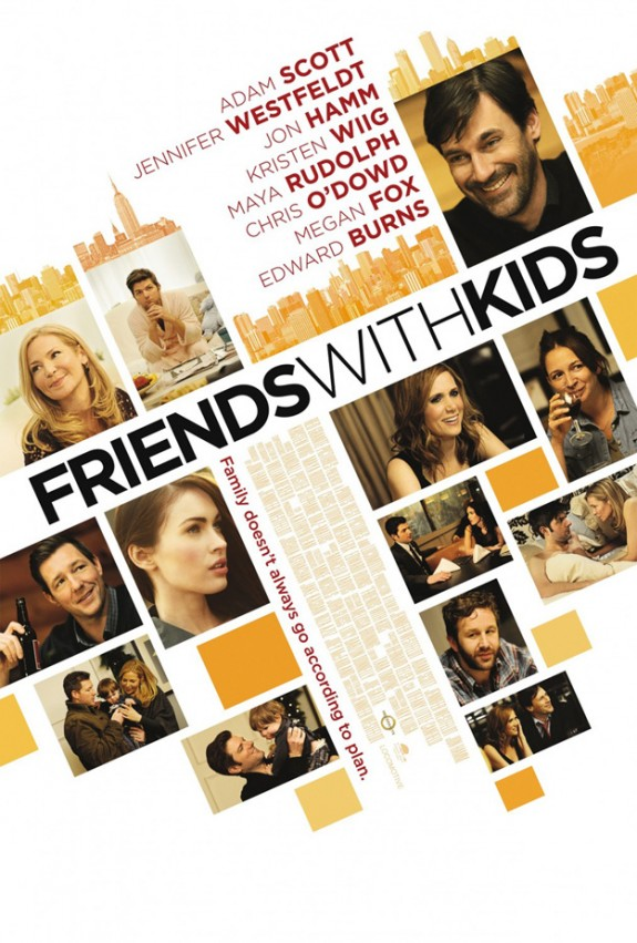 Kristen Wiig: 'Friends With Kids' Poster is Here