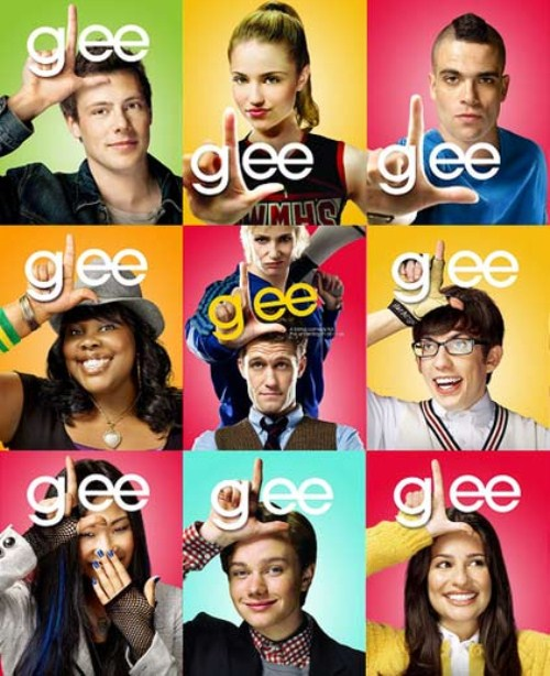 Glee Filming Special Whitney Houston Episode