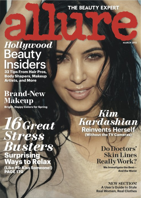 PHOTOS: Kim Kardashian Gets Wet For Allure