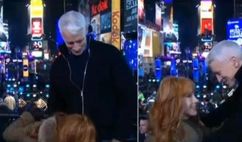 Kathy Griffin Gets Down & Dirty With Anderson Cooper on New Year's Eve
