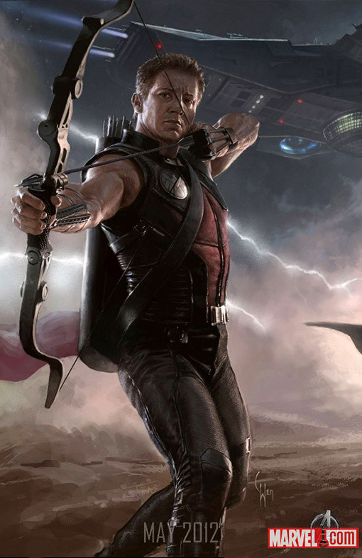 The Avengers Character Poster  - Hawkeye