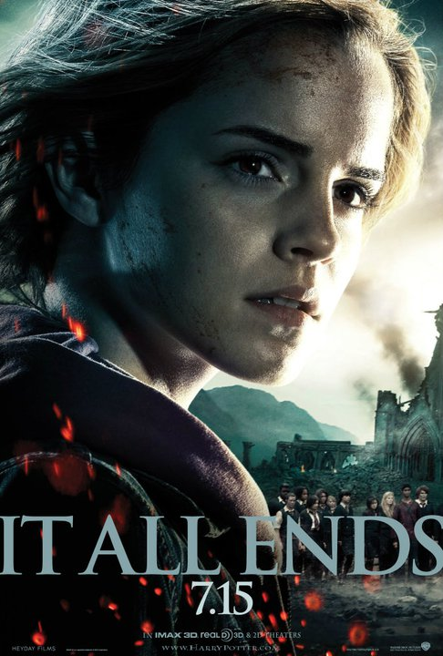 BRAND NEW: Hermione 'Harry Potter and the Deathly Hallows 2′ Poster