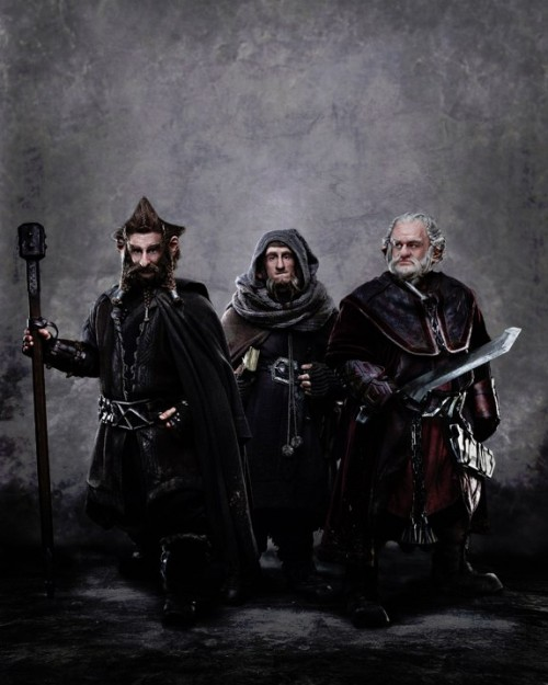 'The Hobbit' FIRST Look: Nori, Ori, & Dori