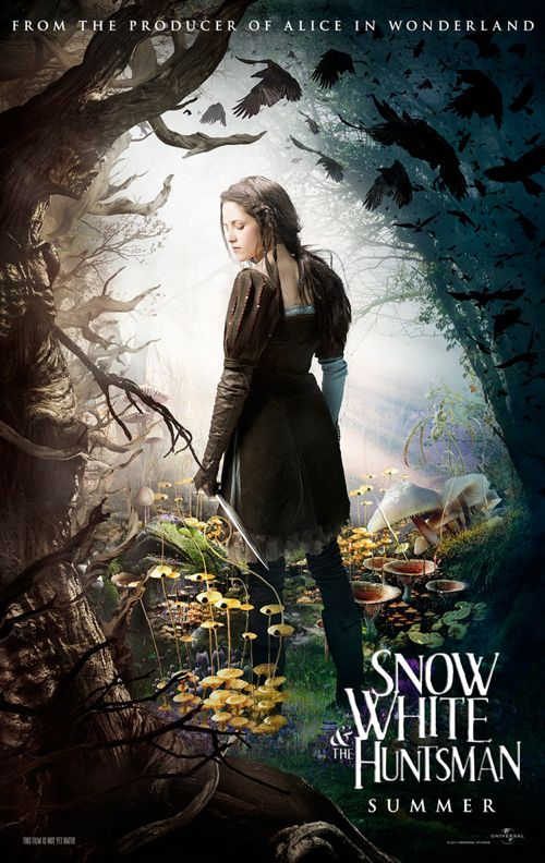 NEW: 4 Gorgeous Posters For &#8216;Snow White and the Huntsman&#8217;