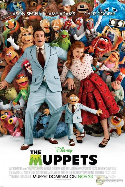 The Muppets Movie Poster - 2