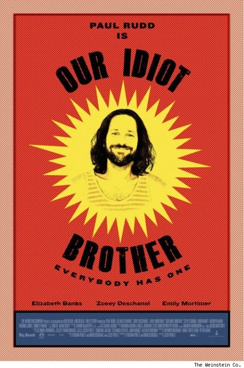 'Our Idiot Brother' Poster Has Arrived