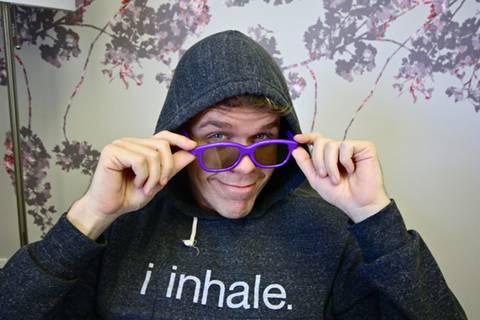 Justin Bieber 3d Glasses Purple. Justin Bieber Purple 3D