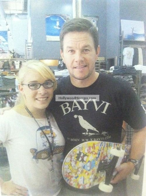 EXCLUSIVE PHOTO: Mark Wahlberg Rocks His Hello Kitty Skateboard