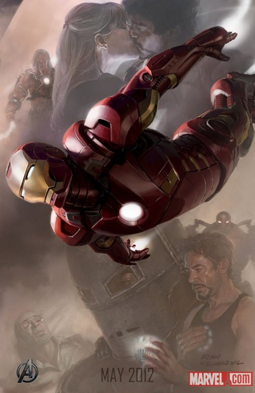'The Avengers' Character Posters Have Landed