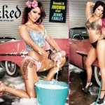 Super Hot Jenni JWoww Farley Covers the New Issue of Inked Magazine