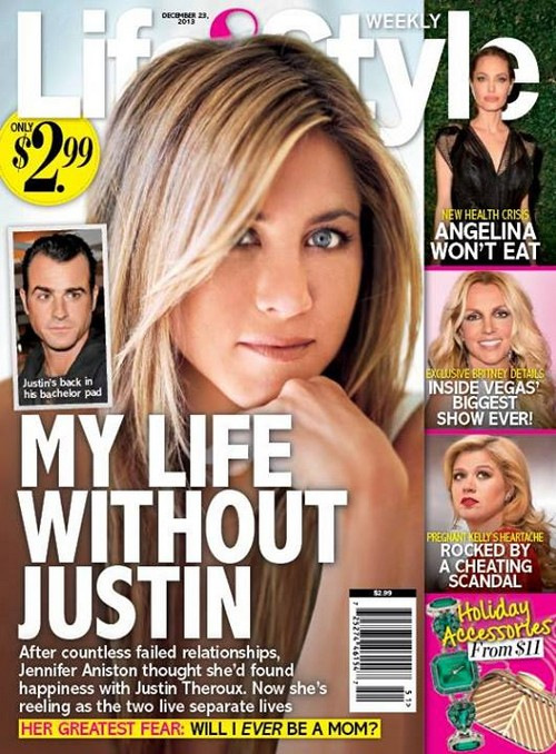 Jennifer Aniston Devastated By Loss Of Justin Theroux (PHOTO)