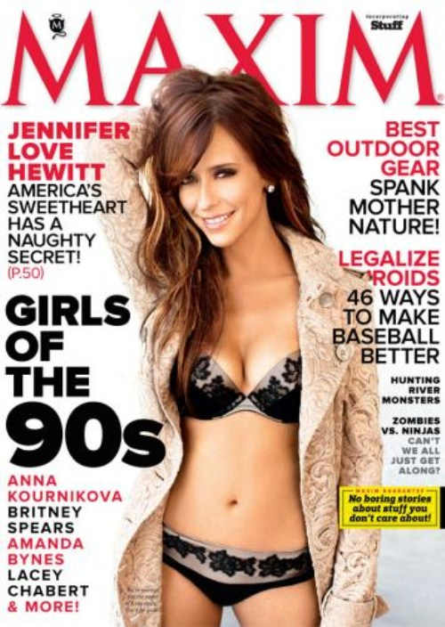 Jennifer Love Hewitt Sizzles On The Cover Of Maxim