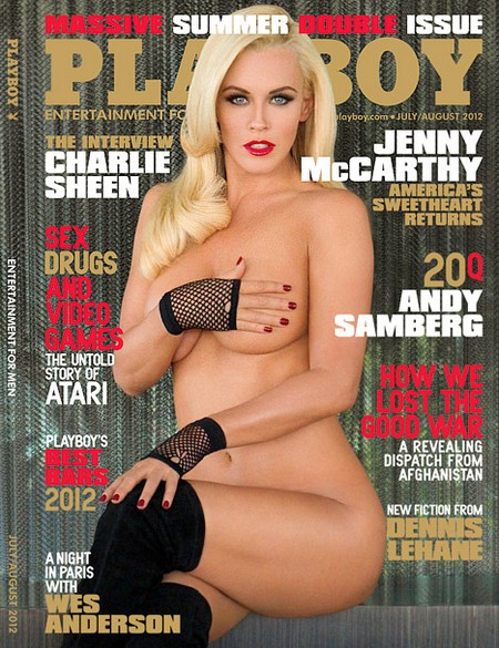 Jenny McCarthy Ditches Her Clothes for Playboy- Again (Photo)