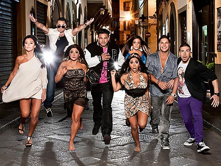Jersey Shore Season 4 - Italy Cast Photo