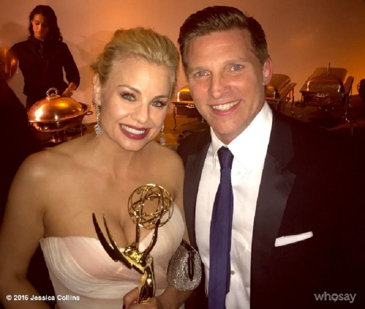 'The Young And The Restless' News: Daytime Emmy Winner Jessica Collins Shares Adorable Photo Of Baby Jemma