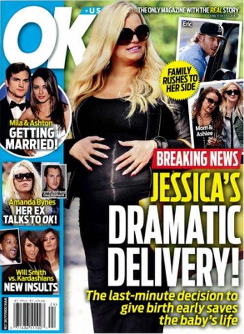 Jessica Simpson Delivering Her Baby Early?