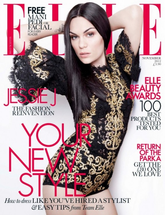 Jessie J Covers Elle Magazine UK, Talks Adele And Singing To A Billion People At The Olympics