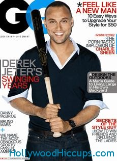 Derek Jeter GQ April 2011 Photos