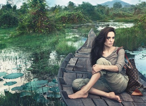 LOOK: Annie Leibovitz Shoots Angelina Jolie For Louis Vuitton